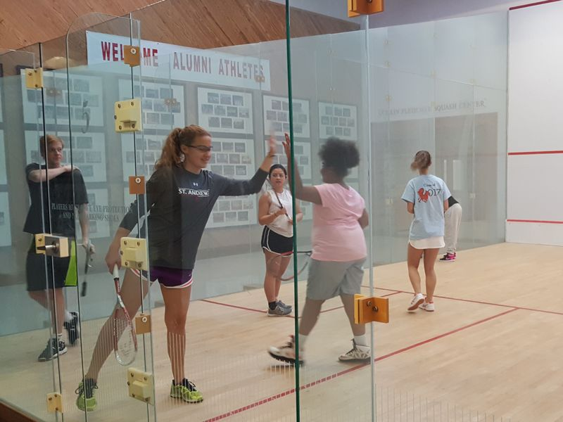SAS Hosts First State Squash Program