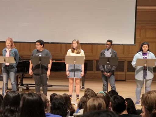 Students Perform in Climate Change Theatre Action Event