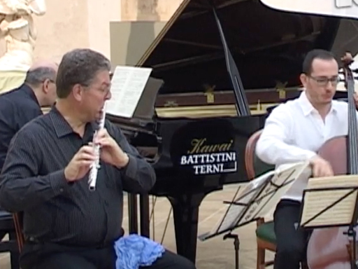 Director of Instrumental Music Fred Geiersbach Performs in Orvieto Music Festival