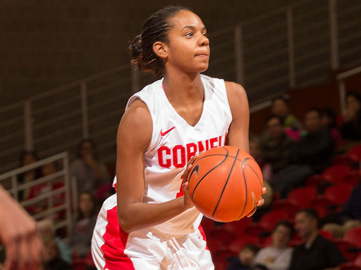Janée Dennis '14 Scores Career-High 24 Points for Cornell Women's Basketball