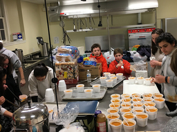 Students Serve Wilmington Homeless During Deep Freeze
