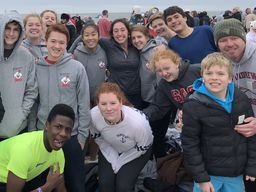 St. Andreans Participate in Polar Bear Plunge