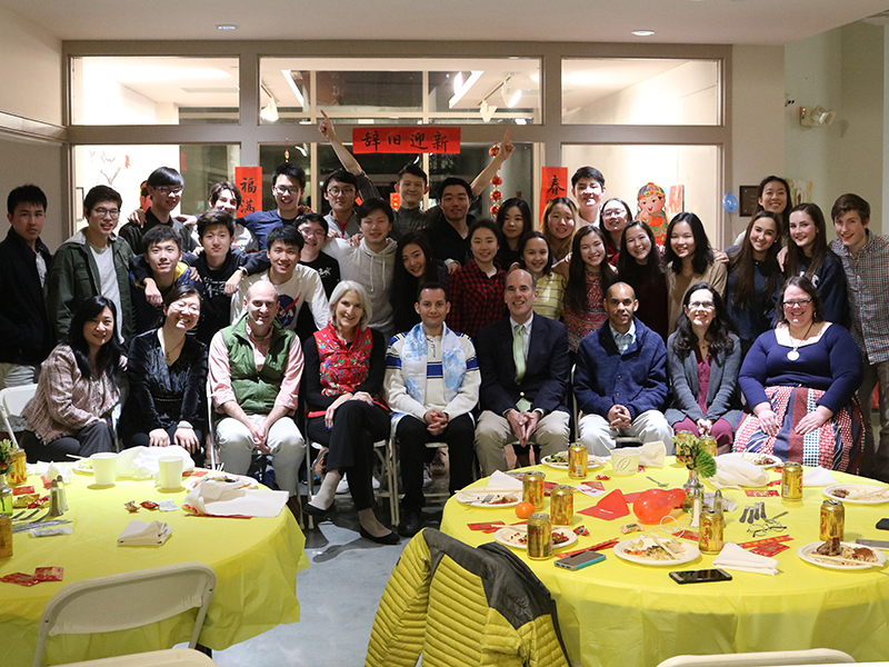 St. Andreans Celebrate Chinese New Year