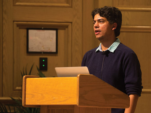 Dr. Aatish Bhatia Delivers the Crump Physics Lecture