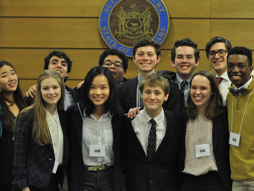 St. Andrew's Competes in Delaware High School Mock Trial Competition