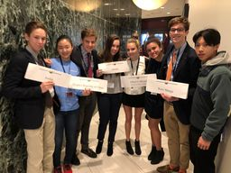 St. Andrew's Model UN Team Attends the North American Invitational Model United Nations Conference