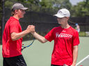 Saints Tennis Makes Strong Showing at State Championships