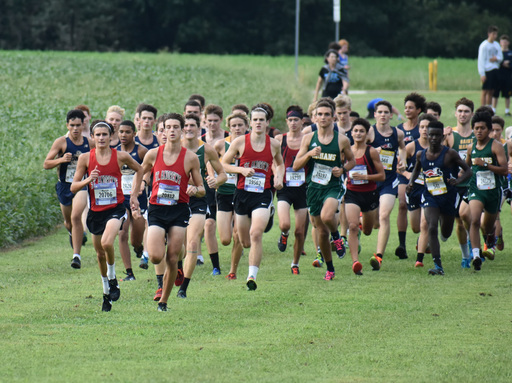Saints Boys Cross-Country Finishes First at Middletown Invitational
