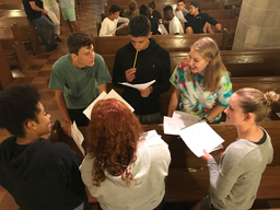 V Formers Reflect on St. Andrew's Core Values
